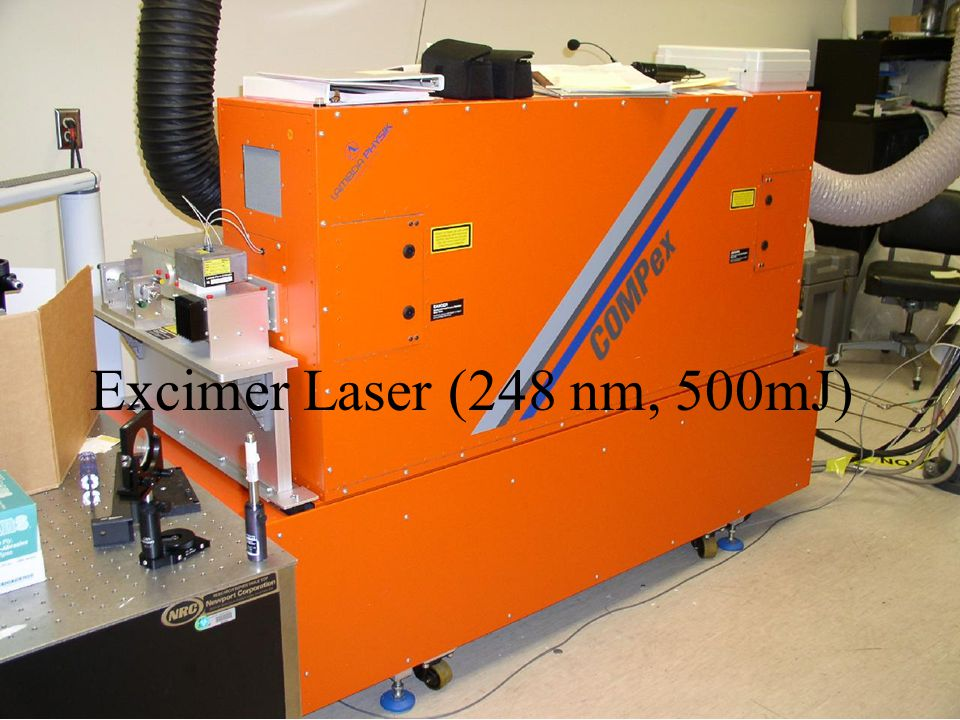 Excimer Laser (248 nm, 500mJ)