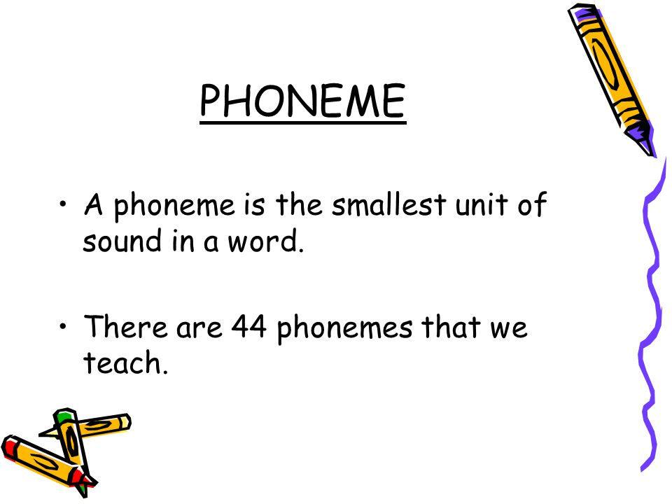 PHONICS Correct pronunciation Correct vocabulary We all need to use the same language at home and at school. Little and often is the key. It does not