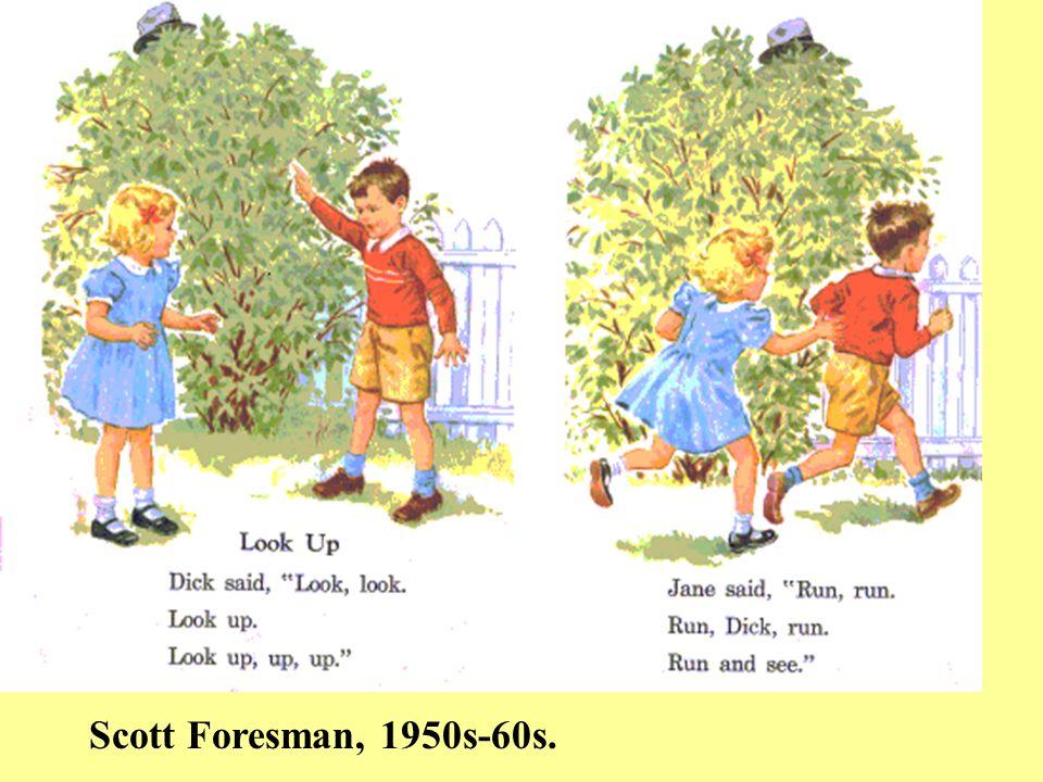 Scott Foresman, 1950s-60s.