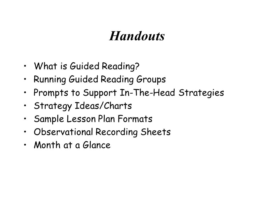 Resources to Support Guided Reading Internet Houghton Mifflin Scholastic.com Guided Reading By Fountas & Pinnell Lori Oczkus –Super Six Comprehension Strategies –Reciprocal Teaching At Work Network with Greer, Howe, Kingswood