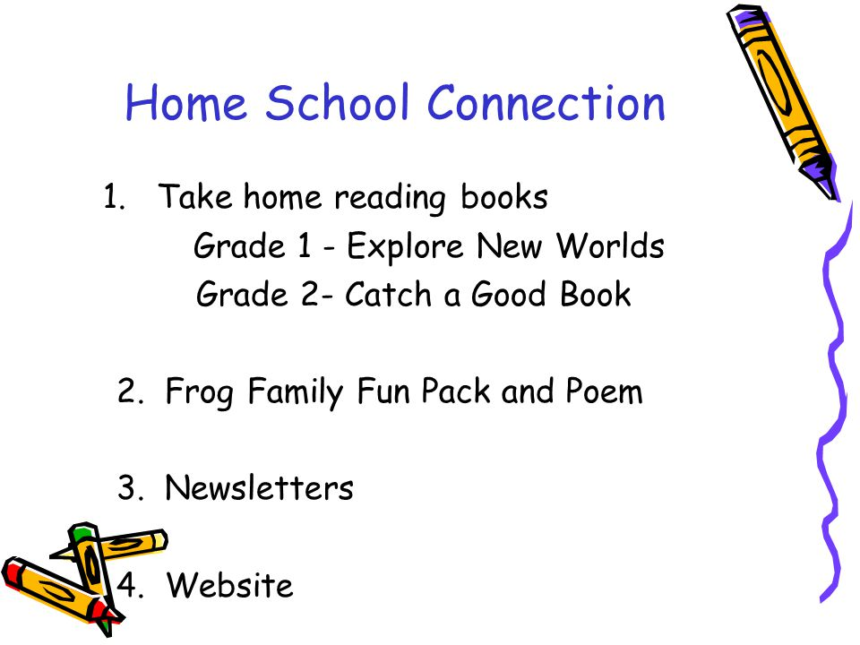 Home School Connection 1.