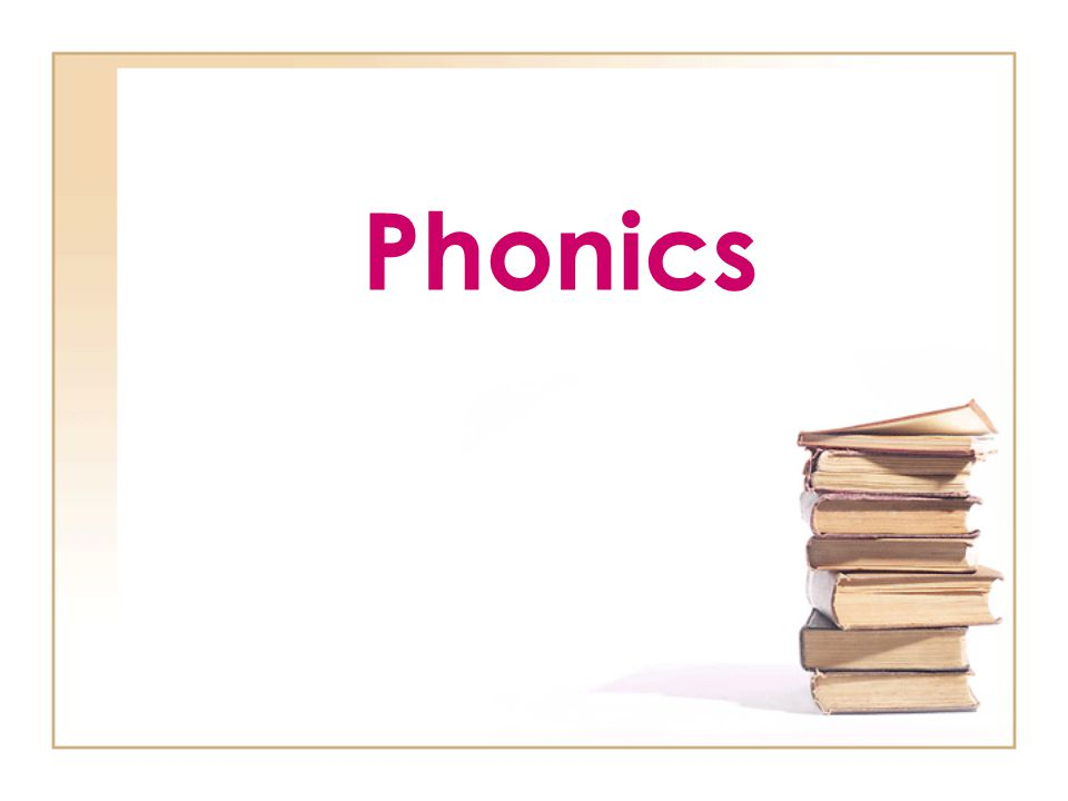 What is it?? Phonics is an organized program where letter/sound correspondences are directly taught