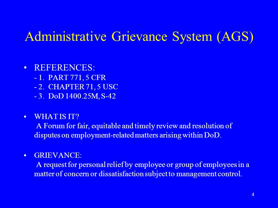 5 GRIEVANCE POLICY EMPLOYEES HAVE THE RIGHT TO: Be treated fairly and equitably Present grievances A prompt consideration and fair decision Have a representative Be free from restraint, coercion, discrimination, or reprisal