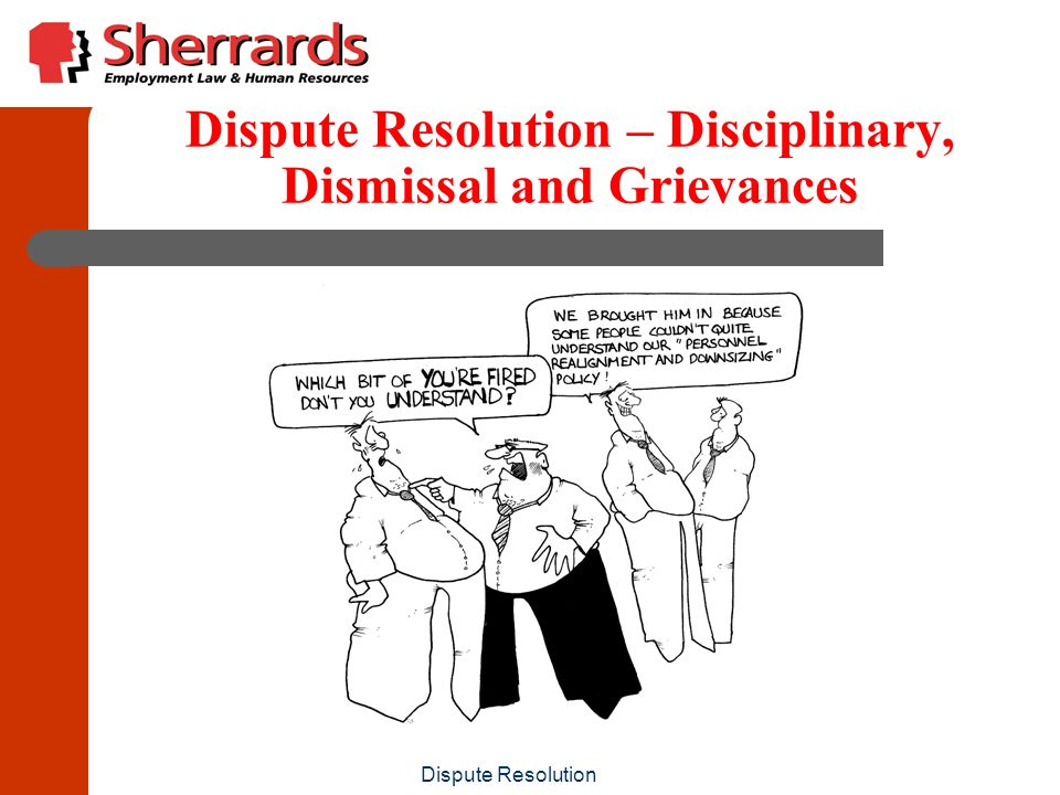 Dispute Resolution Probationers, short fixed term contract employees & retirees Probably over-reaction to apply DDP to all such terminations But be aware that if there is any risk of a claim in an applicable jurisdiction, best to undertake DDP
