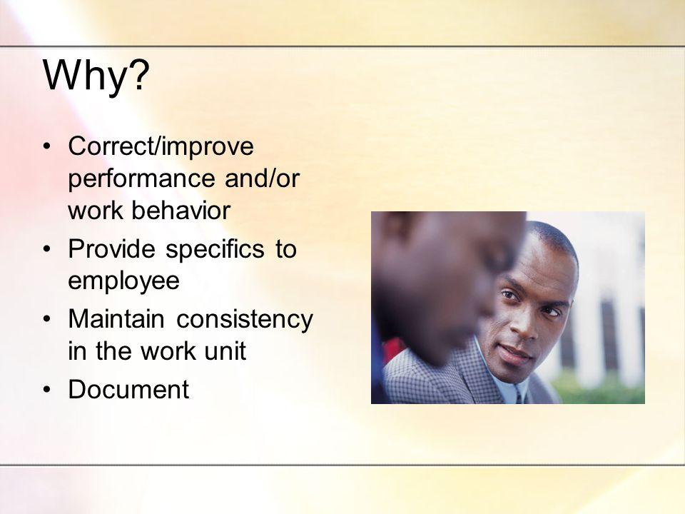 Just Cause Insubordination Unacceptable Personal Conduct Unsatisfactory Job Performance Gross Inefficiency