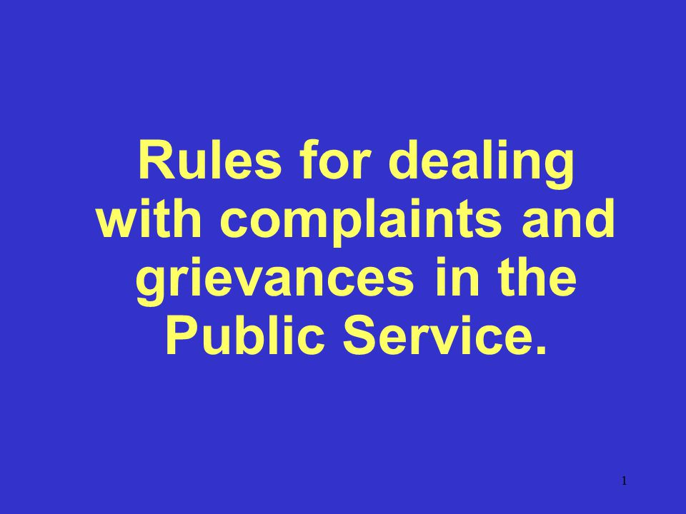 32 Rules for dealing with a Grievance i.Act without delay as stipulated in sub rules 1(b), (c ), (e) and (f) or, within 10 working days of the receipt of such representations, refer the matter to an officer who is empowered to act as stipulated in the said sub rules; and