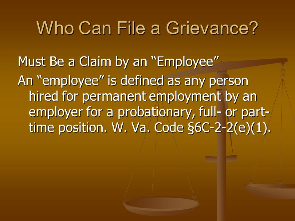 When must a Grievance Be Filed?