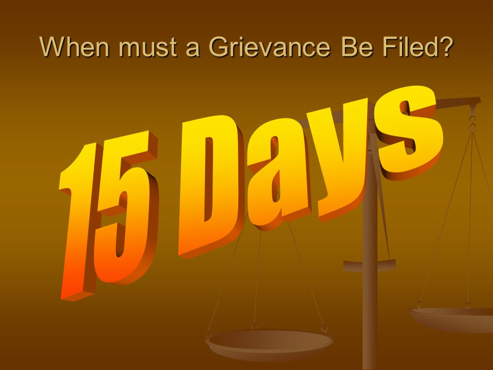 When may file initial grievance at Level 1 15 days from occurrence, knowledge of occurrence, or last occurrence of continuing practice [§6C-2-4-(a)(1)]