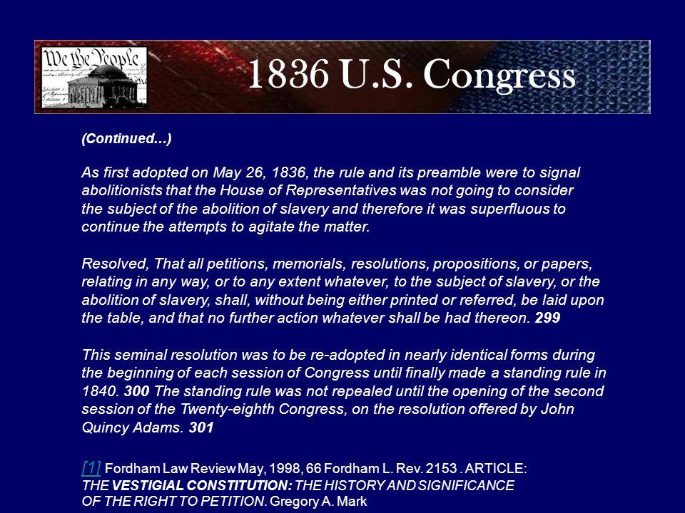 1836 U.S.