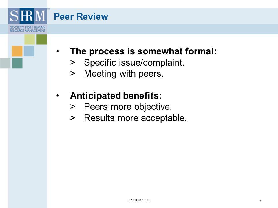 Grievance/Complaint Procedures Union or non-union.