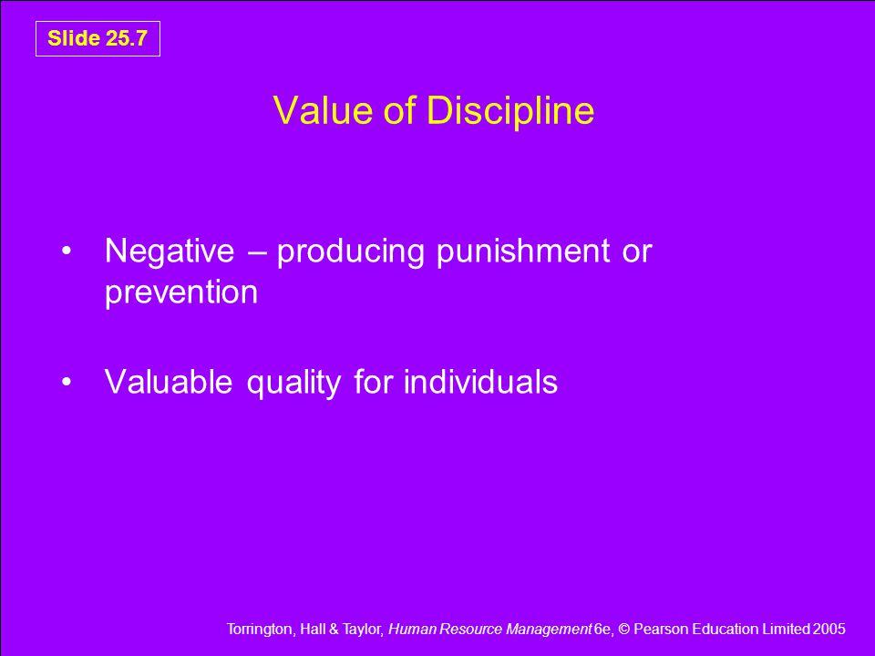 Torrington, Hall & Taylor, Human Resource Management 6e, © Pearson Education Limited 2005 Slide 25.18 Outline Grievance Procedure Figure 25.3 Outline grievance procedure