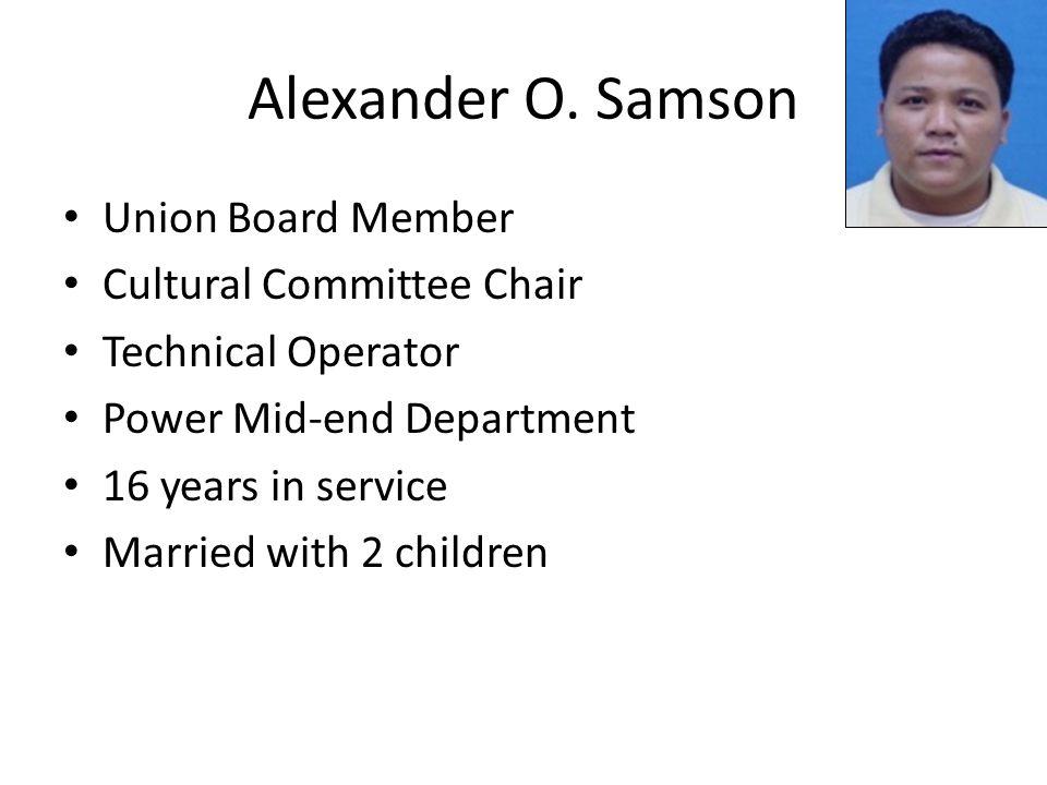 Alexander O.