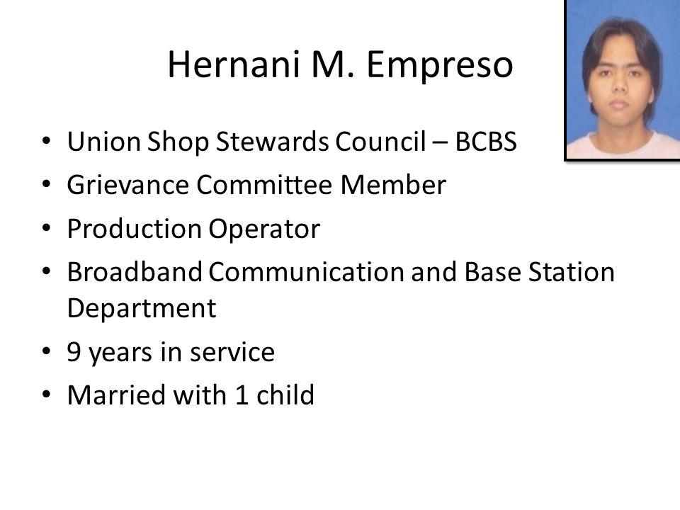 Hernani M.