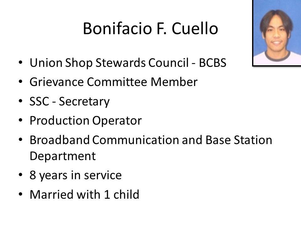 Bonifacio F.
