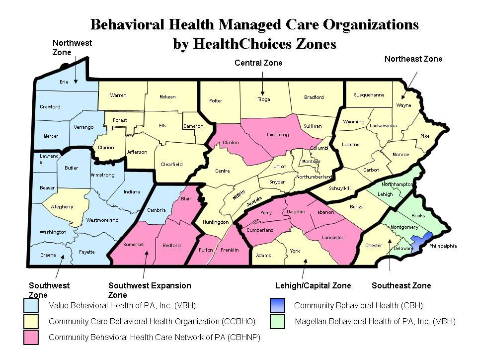 5 The Benefits of HealthChoices Supports the enhancement, expansion & improvement of county-specific delivery of services Provides a continuum of in-plan and supplemental services that promote recovery and resiliency Mental Health Substance Abuse Provides consumers with a choice of in- network providers