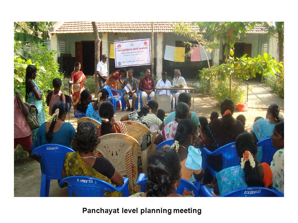 Panchayat level planning meeting