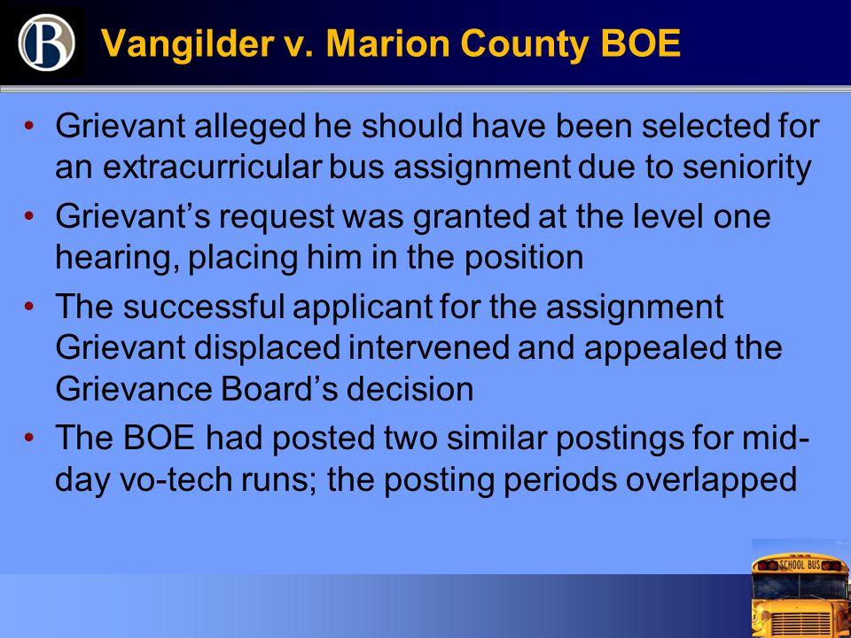 Vangilder v.