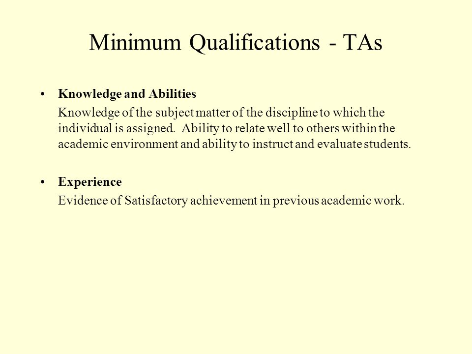 Article 21 - Training All required training and orientation shall be considered part of the workload for the term, with the exception of pedagogy courses required as a condition of employment for Teaching Associates.