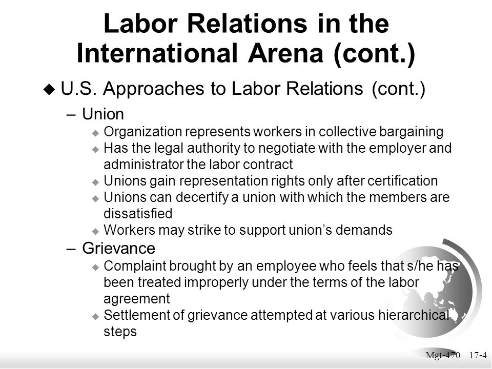 Mgt-470 17-15 Industrial Democracy INDUSTRIAL DEMOCRACY involves the rights of employees to participate in significant management decisions  wages  vacation  work rules  plant closings and expansions