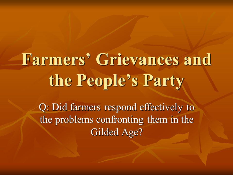I.Overview: Agrarian Revolt Imp.