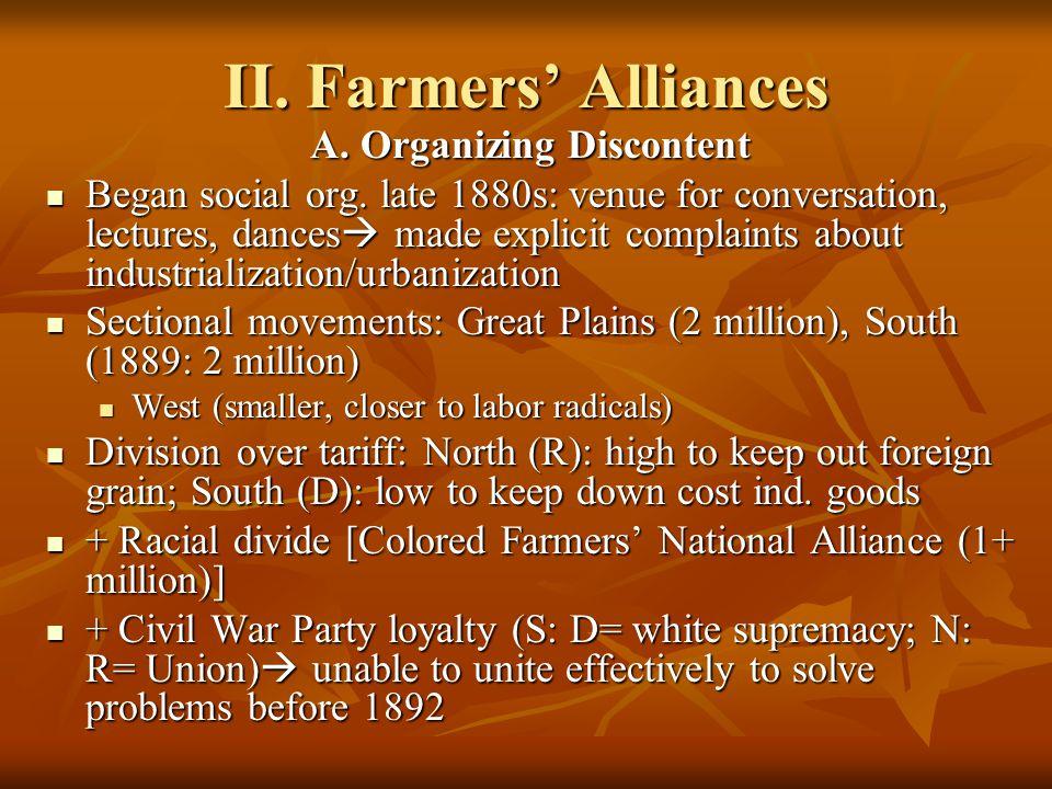 Populists tried to form an alliance with Democrats: W.J.