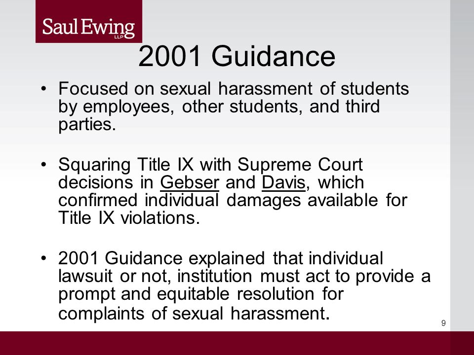 Notice of Grievance Procedures Procedures should be easily understood, easily located, and widely distributed.