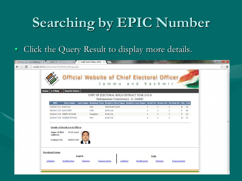 Click the Query Result to display more details.Click the Query Result to display more details.