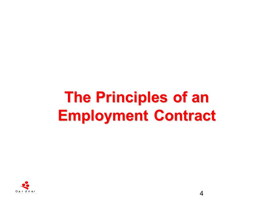 5 Contract of Employment It is the legal basis of the employment relationship and is central to the interpretation & application of statutory rights A contract starts as soon as an offer of employment is accepted.