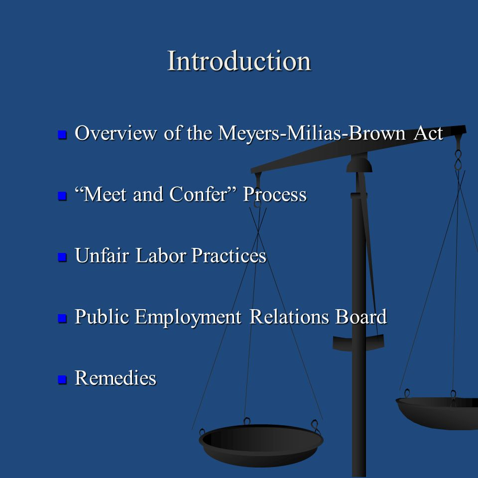 The PERB Process Unfair Practice Charges Unfair Practice Charges PERB Regulations PERB Regulations MMBA Provisions MMBA Provisions Charges can be Filed Online, In Person or by Mail Charges can be Filed Online, In Person or by Mail PERB Charge is Filed by Counsel PERB Charge is Filed by Counsel