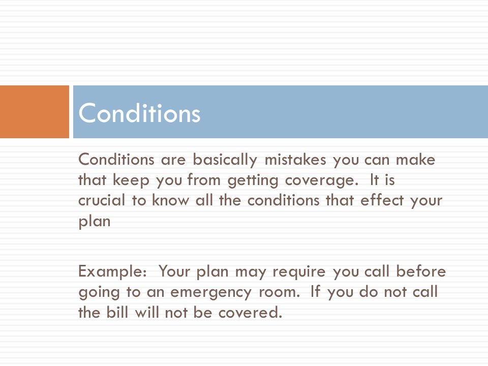 Authorizations are just another name of conditions.