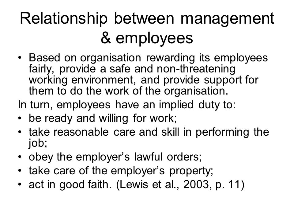 Psychological contract unwritten expectations of the employee- management relationship that exist in addition to the formal employment contract employees should have a realistic and accurate understanding of what to expect, and what is expected of them, in the sport organization these expectations may be formed before starting work (based on pre-entry socialisation) and may need to be realigned upon entry (encounter socialisation)