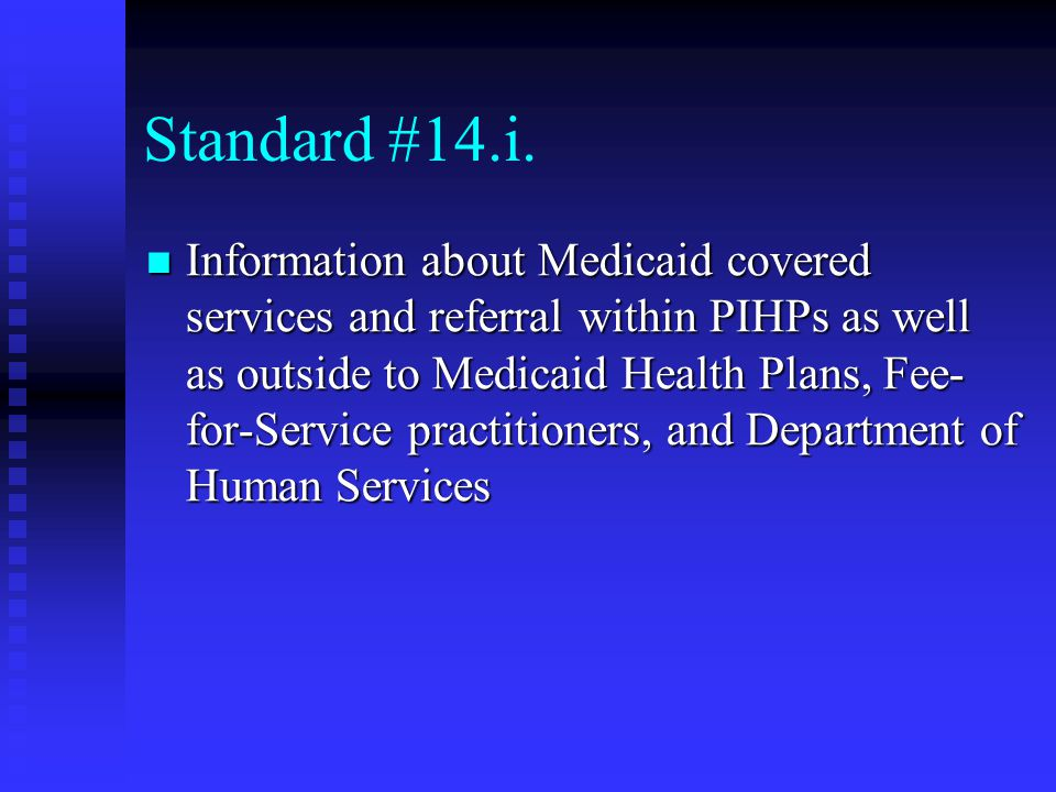 Standard #14.i.