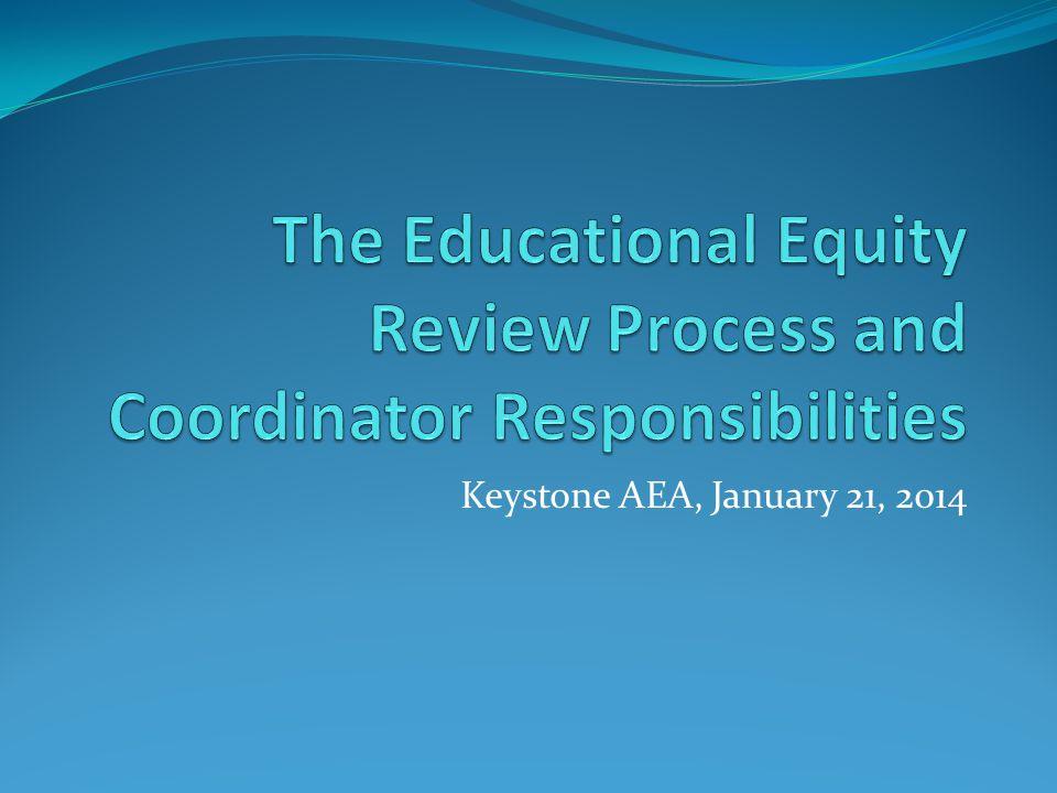 Keystone AEA, January 21, 2014