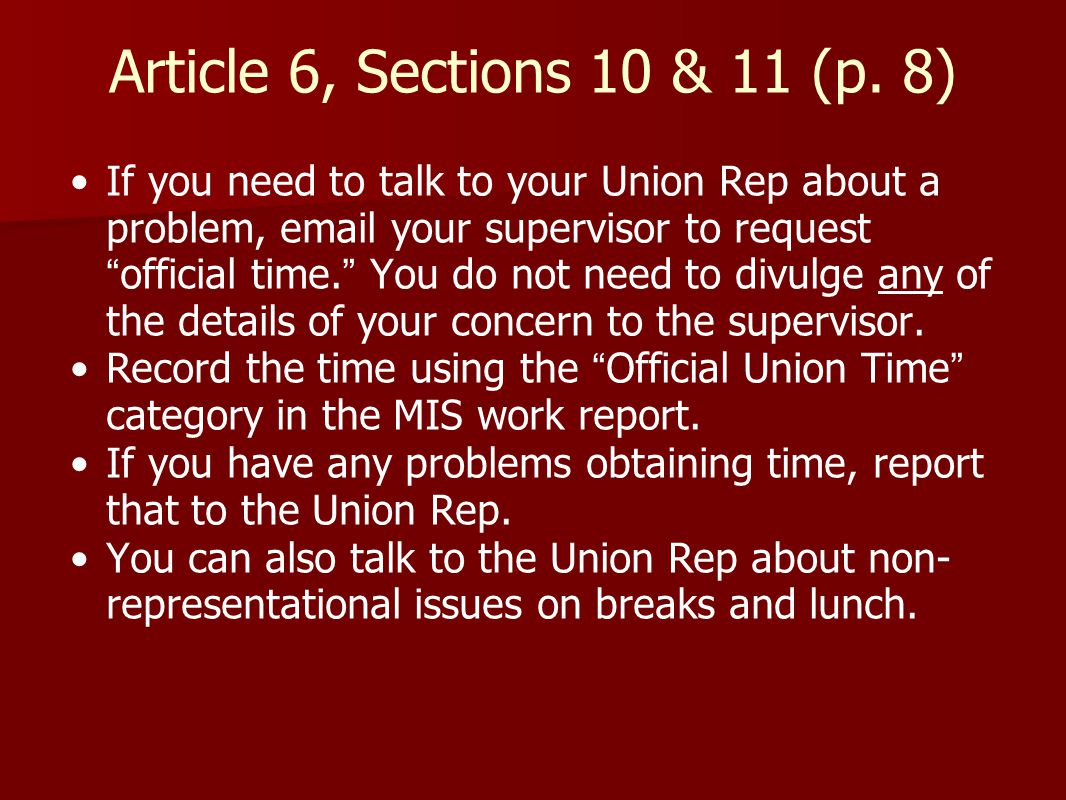Article 6, Sections 10 & 11 (p.