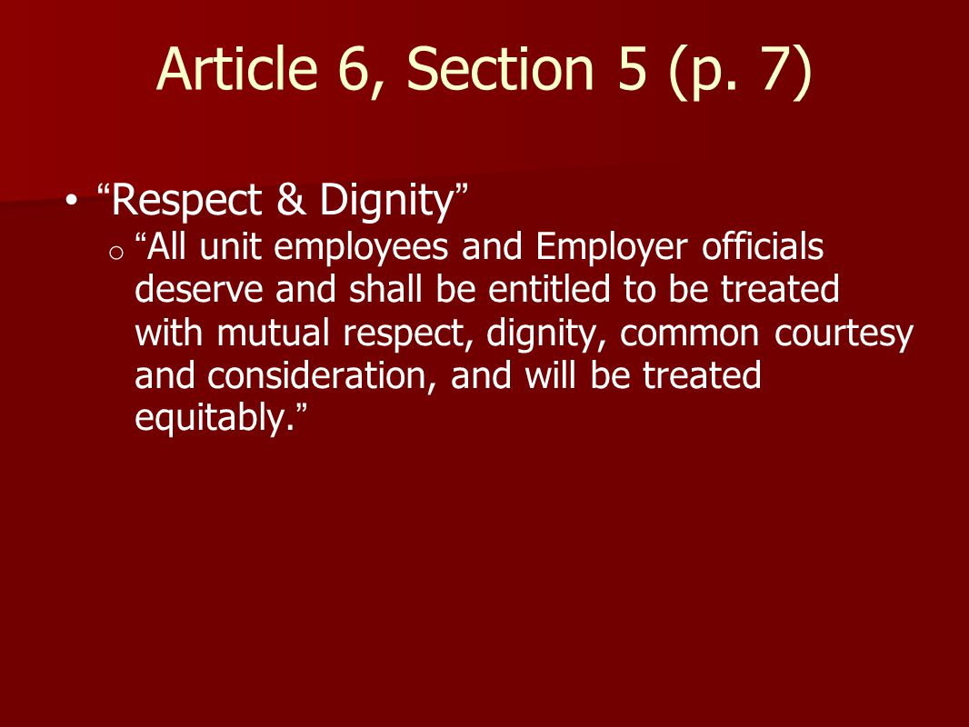 Article 6, Section 5 (p.