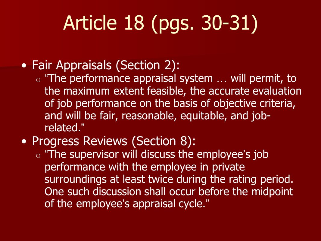 Article 18 (pgs.