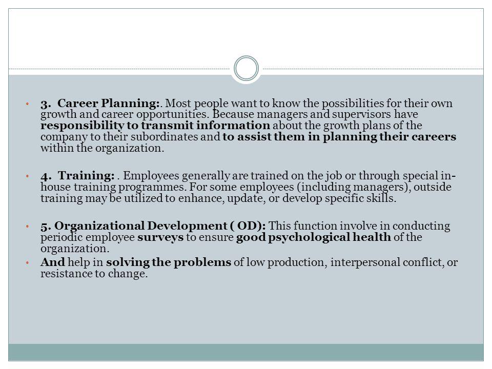 3.Career Planning:.