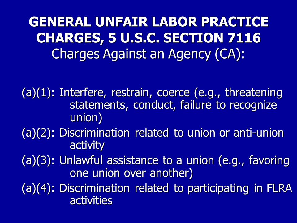 PROCEDURES FOR FILING UNFAIR LABOR PRACTICE CHARGES 6.Enclose with the charge a list of the names and phone numbers and/or e-mail addresses of your witnesses in the case.