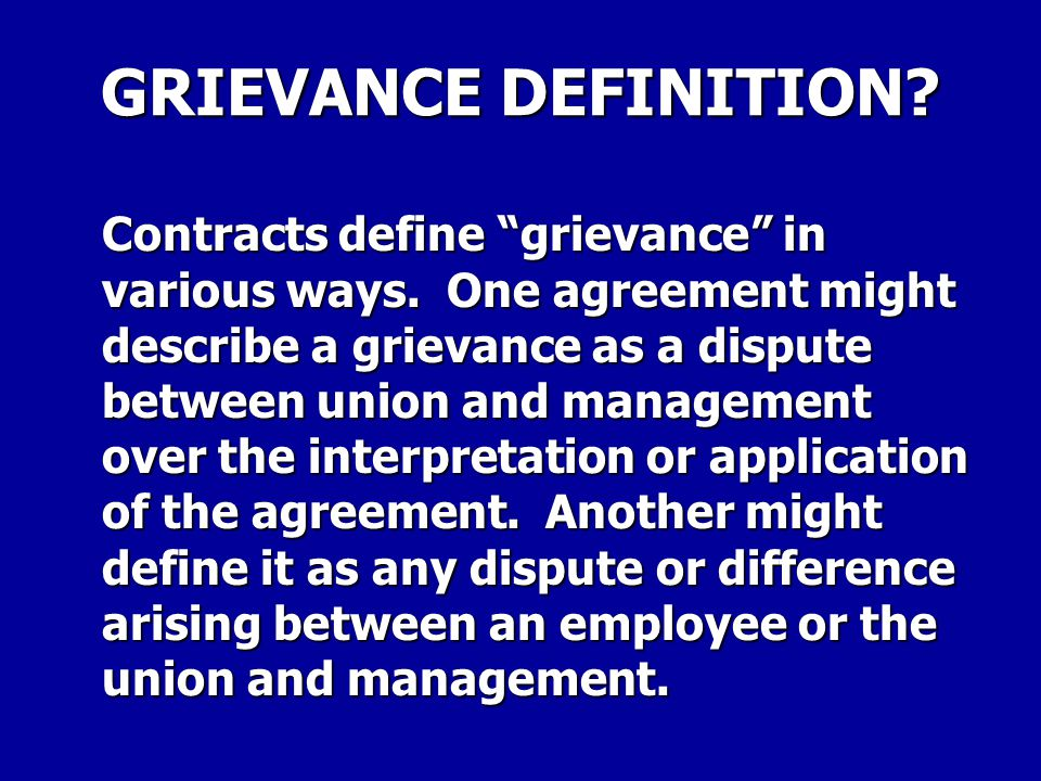 A GRIEVANCE CAN NOT CONCERN: Any examination, certification, or appointment.