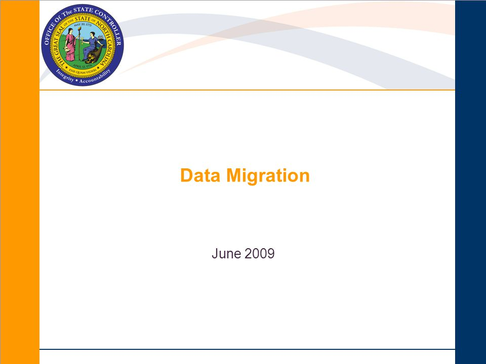 June 2009 Data Migration