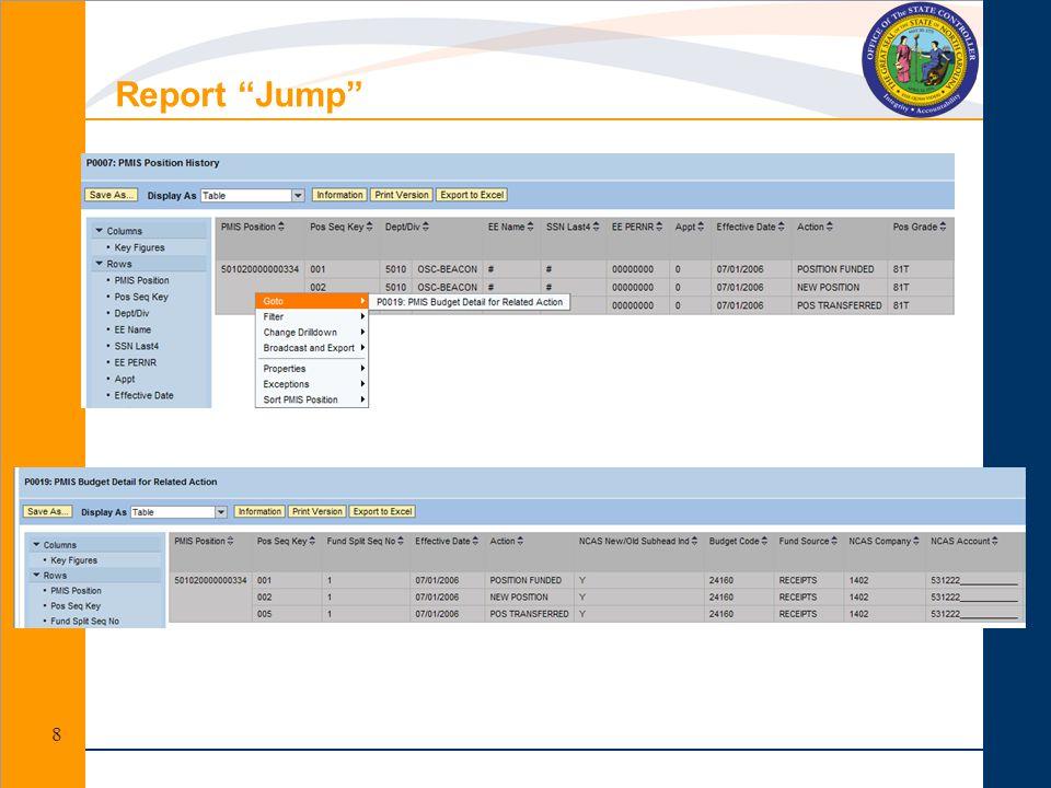 Report Jump 8