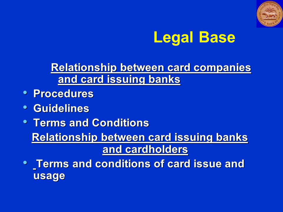 Card issuing banks have own policies on disclosure, transparency, customer grievances redressal Card issuing banks have own policies on disclosure, transparency, customer grievances redressal Methods of working vary– foreign & new private banks more likely to outsource work- - marketing of card products and recovery/ collection Methods of working vary– foreign & new private banks more likely to outsource work- - marketing of card products and recovery/ collection Marketing techniques -foreign/ new private banks - more aggressive Marketing techniques -foreign/ new private banks - more aggressive