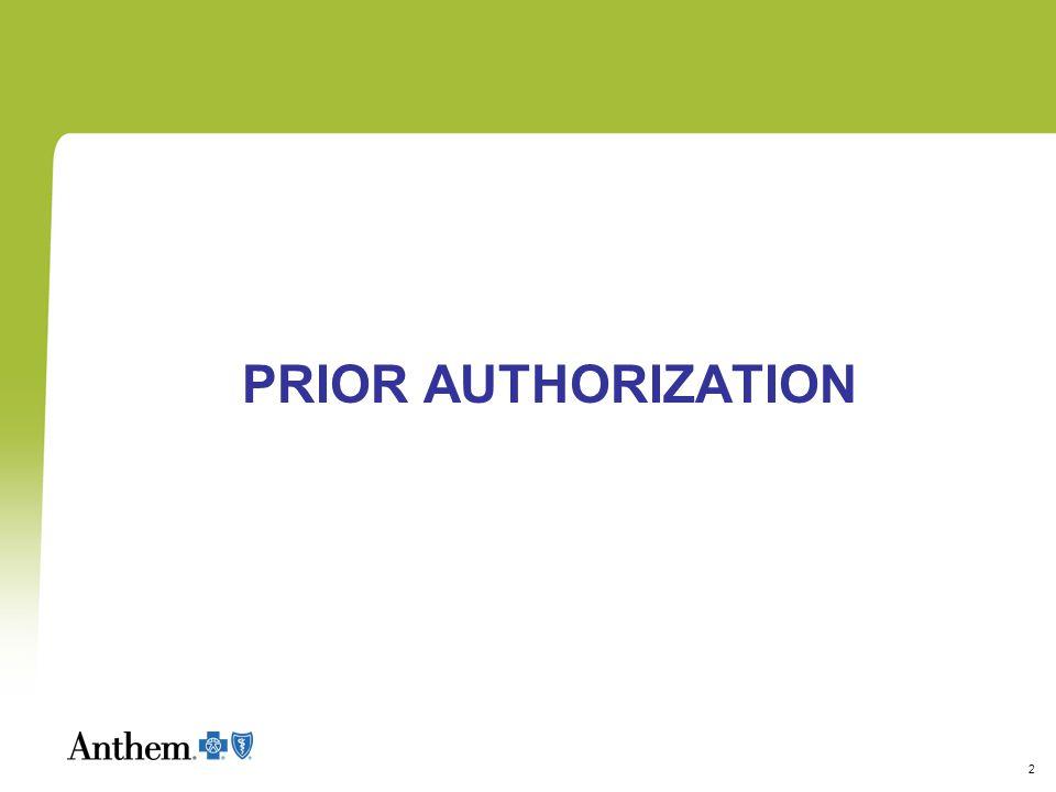 2 PRIOR AUTHORIZATION