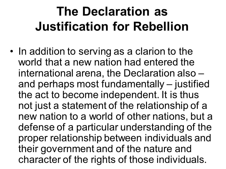 List of Grievances (Jefferson's Bill of Indictment Against the King) Also, Jefferson had to establish the King's oppressive acts were part of a long train of abuses and usurpations deliberately undertaken with the goal of violating the colonists' liberties.