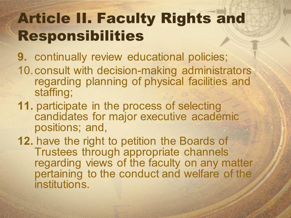 19 Article II.