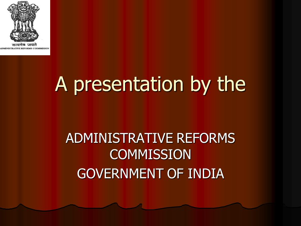 The presentation Evolution of the Indian administrative system Evolution of the Indian administrative system Constitutional framework.