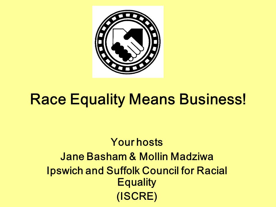 Race Equality Means Business.
