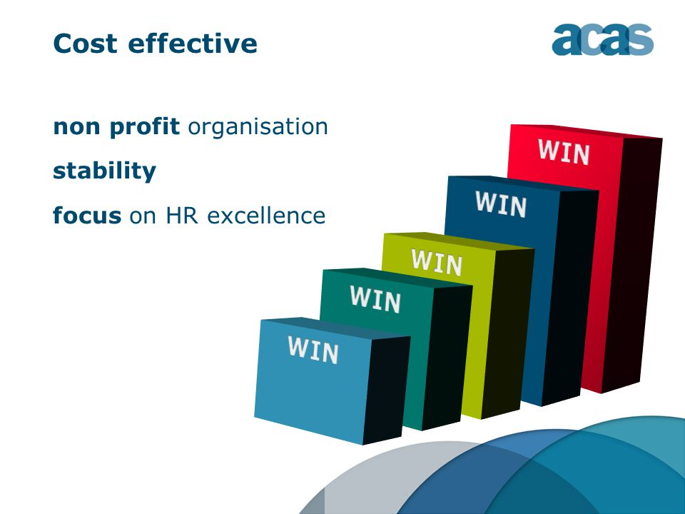 non profit organisation stability focus on HR excellence Cost effective