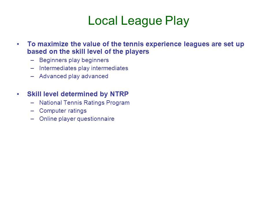 TennisLink (http://national.usta.com)
