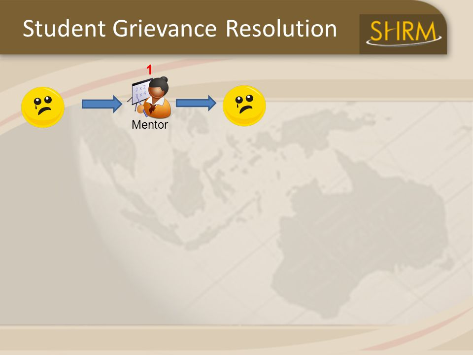 Mentor 1 Student Grievance Resolution
